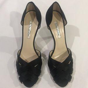 Oscar de la renta black heels